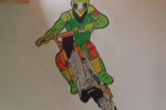 Kinderzimmer Motocross