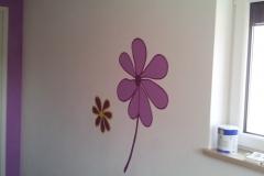Kinderzimmer Blume